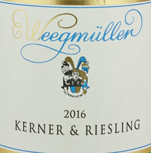 Weegmüller Kerner & Riesling