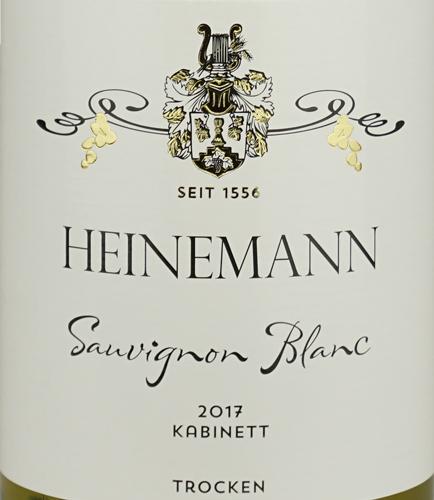 Weingut Heinemann Sauvignon Blanc Kabinett trocken