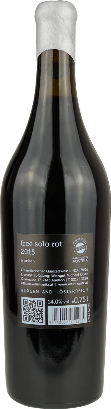 Weingut Michael Opitz Free Solo Rot
